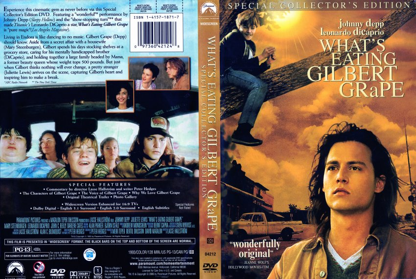 What's Eating Gilbert Grape - Movie DVD Scanned Covers - What s ...