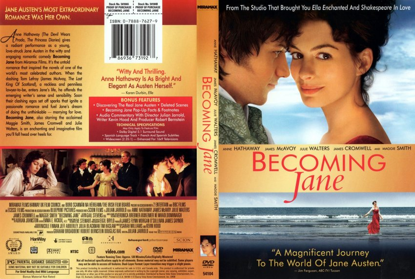 Becomig jane the movie
