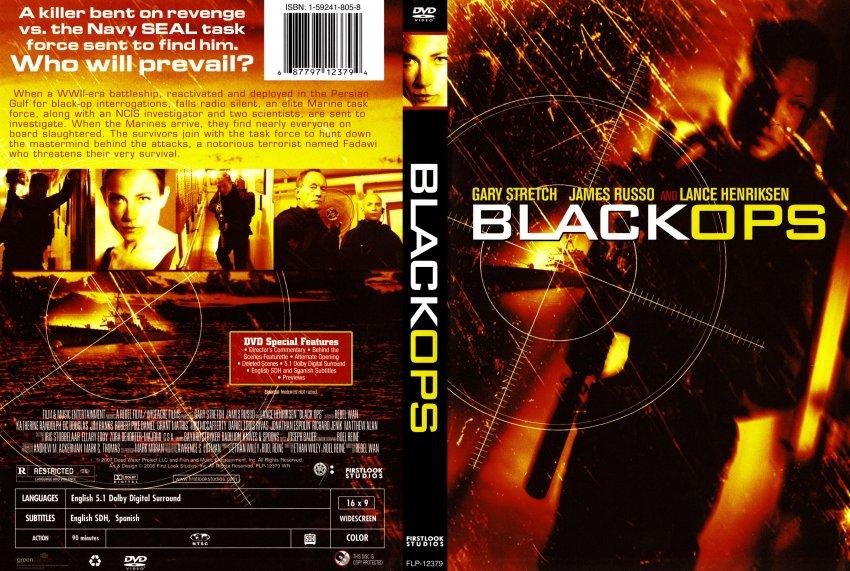 Black ops dvd