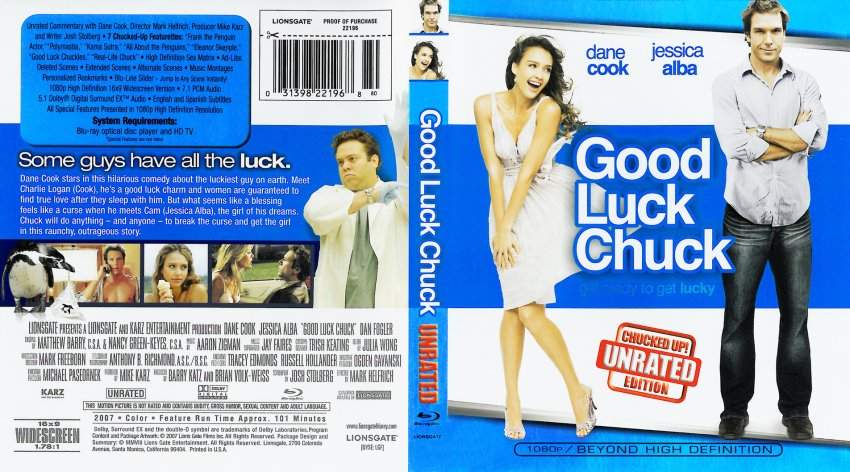 The gallery for --> Good Luck Chuck Dvd