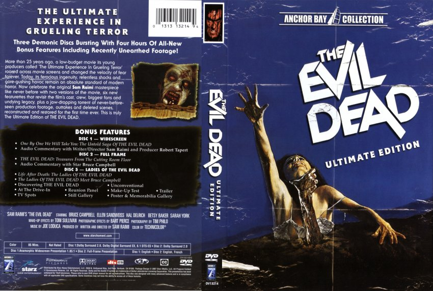 """a comparison between the movies evil dead and evil dead 2 """"evil dead"""" in respect to """"evil dead 2"""" main character personality differences from the original to the remake """"evil dead"""" and """"evil dead 2"""" are both late 80's horror movies starring bruce campbell as ash, a quiet guy in his early 20's that ends up hacking to death his demon possessed friends to avoid death."""