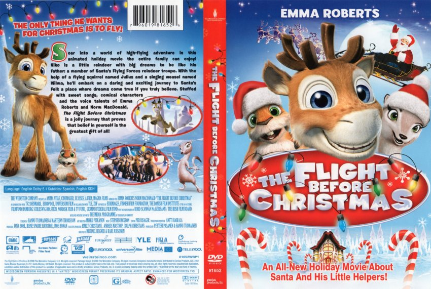 Flight Before Christmas DVD Cover