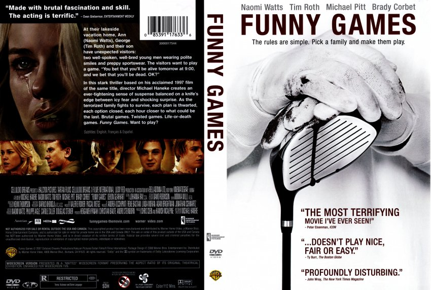 Funny Games - Movie DVD Scanned Covers - funny games n :: DVD Covers
