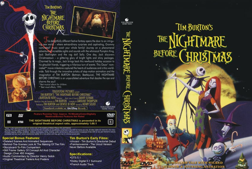 tim burtons the nightmare before christmas - Is Nightmare Before Christmas A Christmas Movie