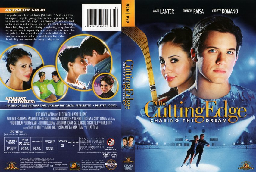 the cutting edge 3chasing the dream movie dvd scanned