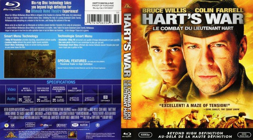 Hart's War - Movie Blu-Ray Scanned Covers - Hart s War ... Bruce Willis