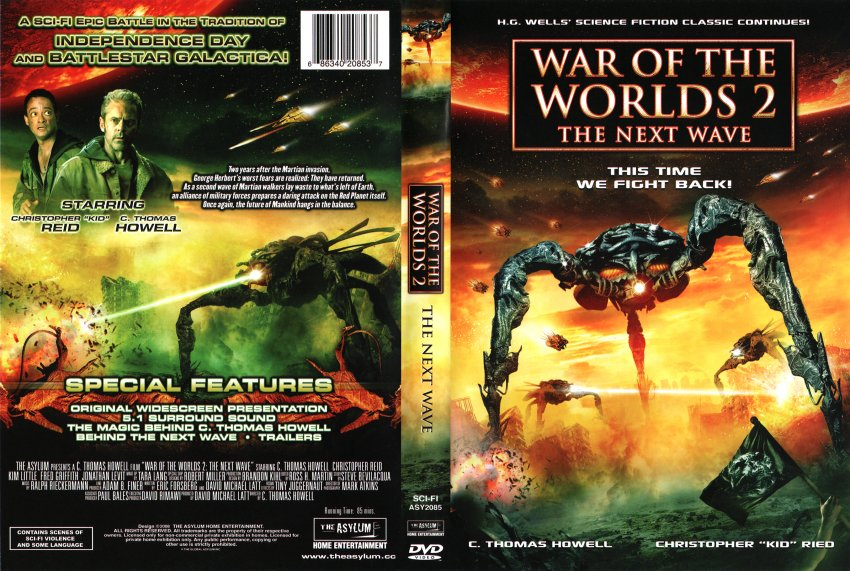 Dvd World War z War of The Worlds 2