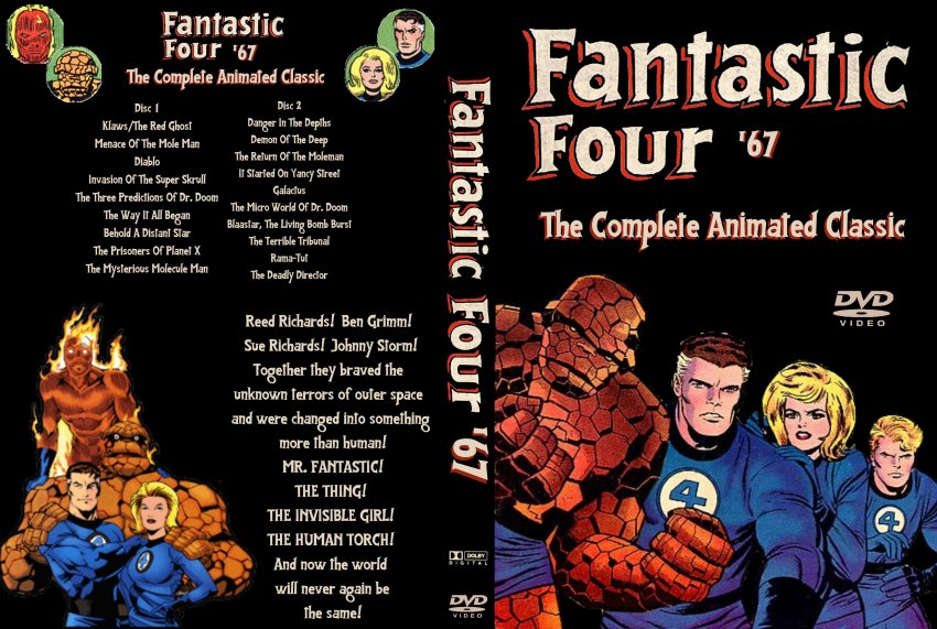 Fantastic Four The 67 Collection