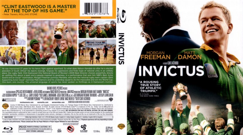movie reaction paper invictus Media reaction paper soc 315 invictus i choose a movie for my media reaction paper, the title of this movie is invictus starring matt damon and morgan freeman.