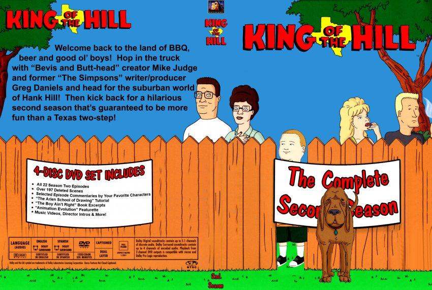 King of the Hill: The Complete 9th Season (DVD, 2015, 2 ...