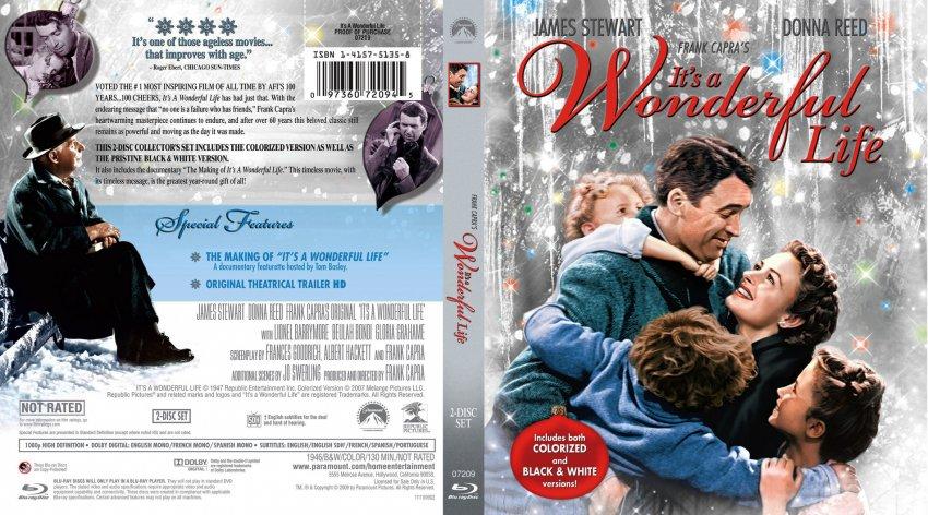 It 39 S A Wonderful Life Movie Blu Ray Scanned Covers It S A Wonderful Life English Bluray