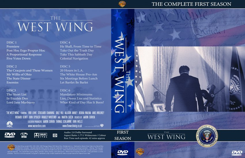 the west wing season 1 tv dvd custom covers 1860thewestwing seizoen1 dvd covers. Black Bedroom Furniture Sets. Home Design Ideas