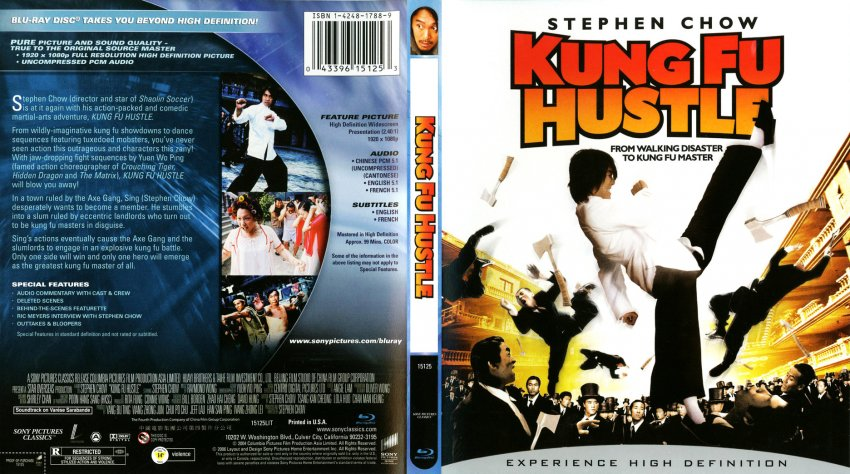 Kung Fu Hustle - Movie Blu-Ray Scanned Covers - Kung Fu