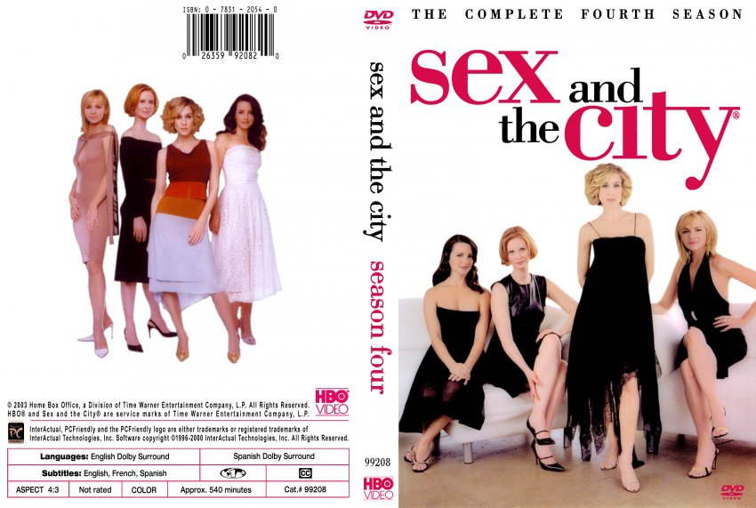 Sex and the city season 1 dvd cover