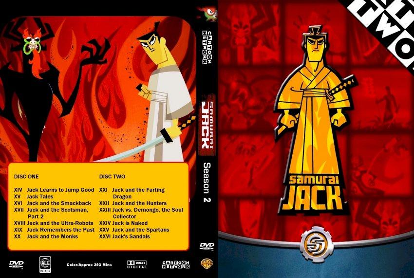 Samurai Jack Season 2 - TV DVD Custom Covers - 3123Samurai Jack Season 2 :: DVD Covers