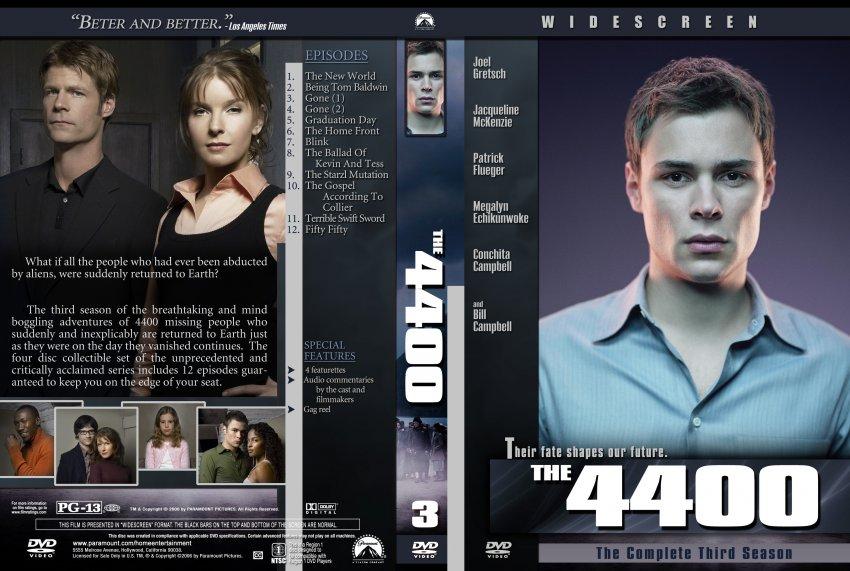 4400 serie dvd: