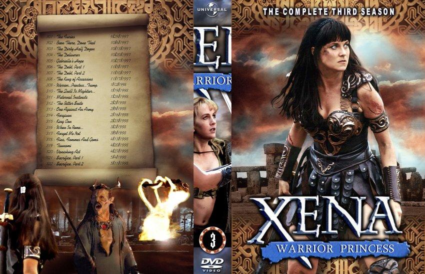 Xena warrior princess S3 Complete