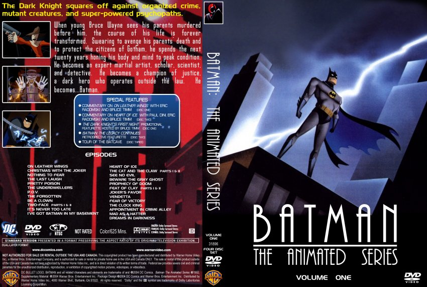 Batman: The Animated Series-Volume One