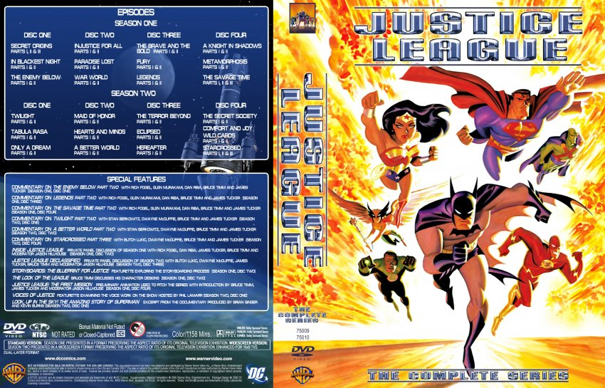 Justice League TV Series DVD