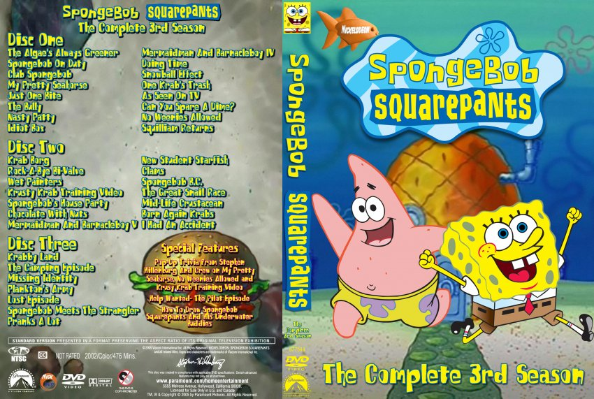 Spongebob Squarepants: The Complete 3rd Season