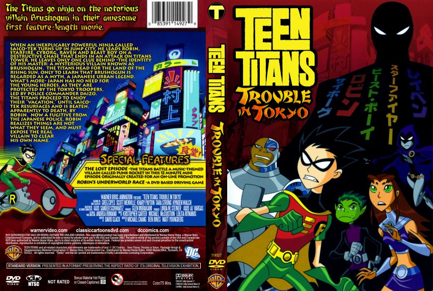 Teen Titans Trouble In Tokyo Download 36