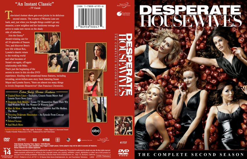 desperate housewives season 2 tv dvd custom covers 349desperate housewives set season 2. Black Bedroom Furniture Sets. Home Design Ideas