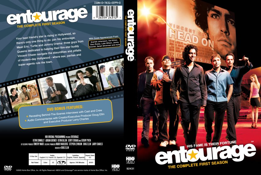 Entourage Season 1 Tv Dvd Custom Covers 349entourage