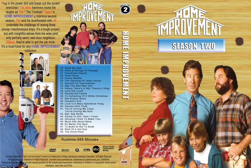 Amazing Home Improvement Season 1 DVD Cover 850 x 571 · 149 kB · jpeg