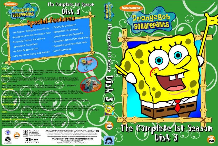 Spongebob Seasons Dvd Spongebob Squarepants Season