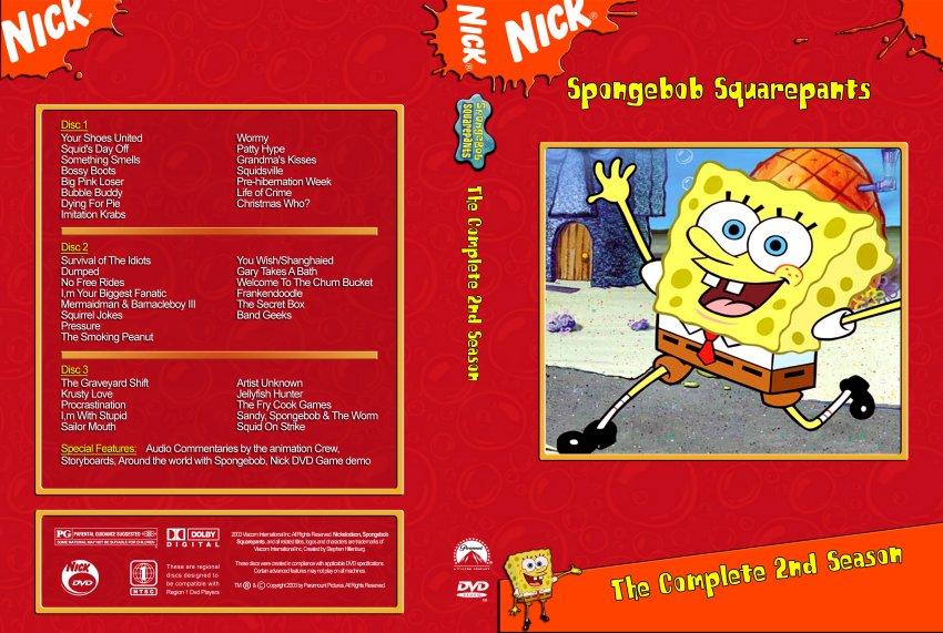 Spongebob Seasons Dvd Spongebob Season 2