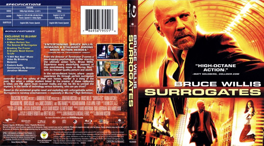 Surrogates Movie Review  Common Sense Media