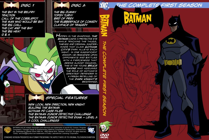 The Batman - The Complete First Season - Custom