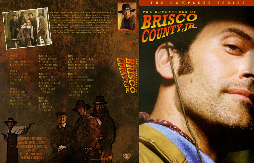 Adventures Of Brisco County Jr The Complete Series Tv