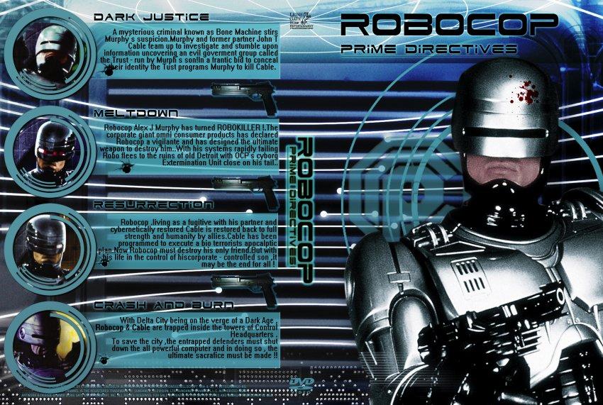 RoboCop Prime Directives DVD-Cover