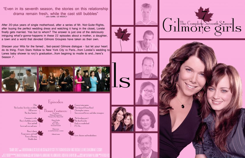 Gilmore Girls Season 1 DVD Cover