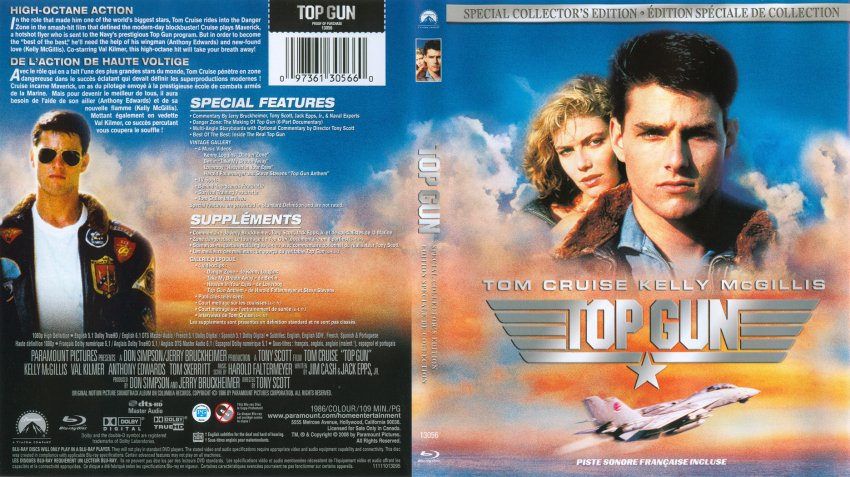 Top Gun 3D Blu-ray: Limited 3D Edition