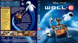 Wall-E Cover Scan Blu Ray
