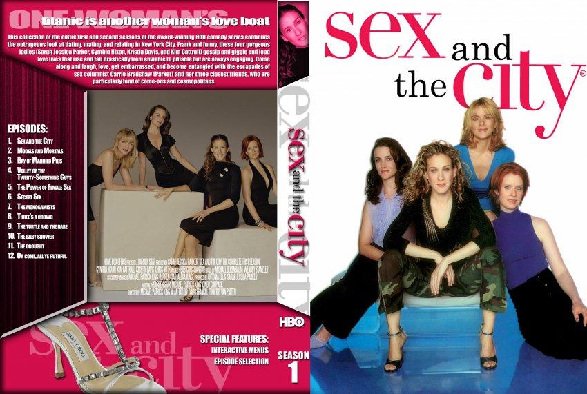 City - Season 1 - TV DVD Custom Covers - Sex and the City - Season 1 ...