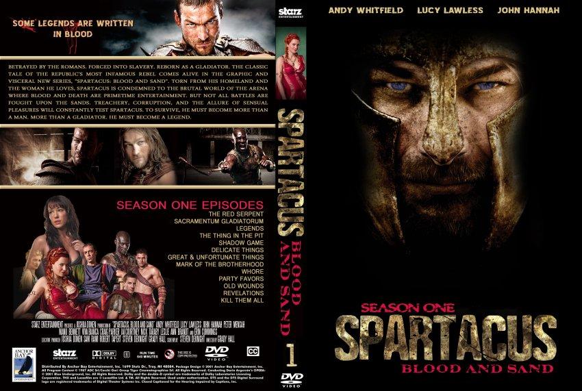 Amazoncom Spartacus Blood and Sand Season 1 Bluray