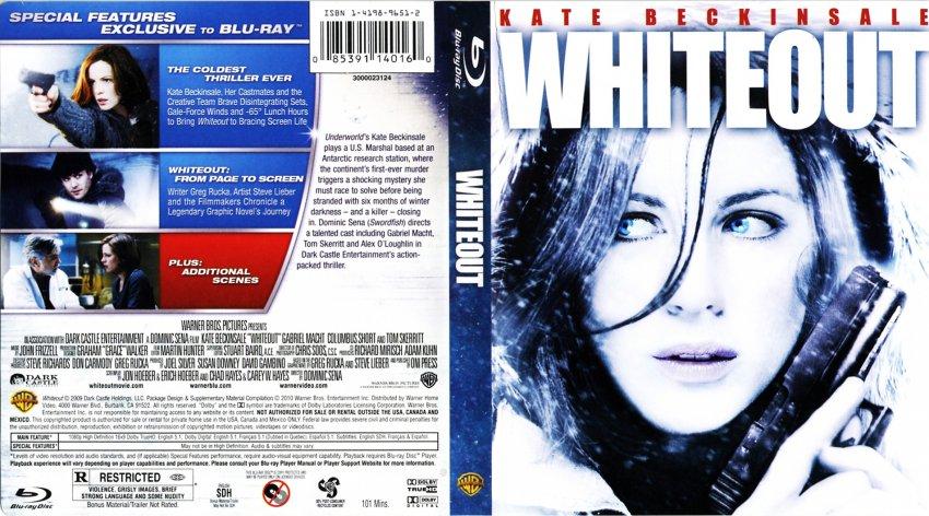 Whiteout Movie Poster Whiteout Movie Whiteout