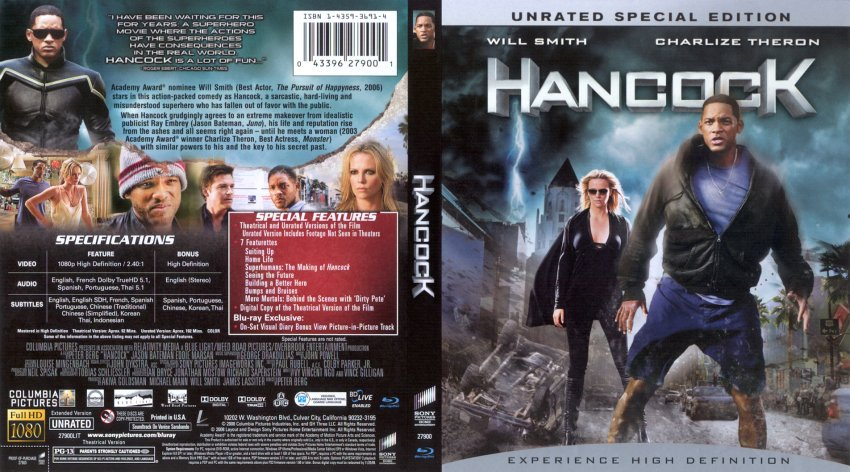 Who is hancock the movie