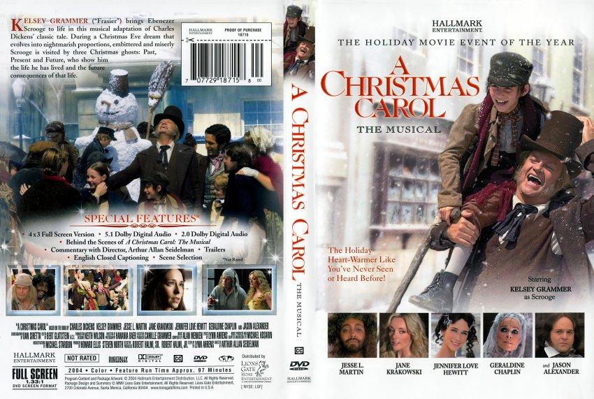A Christmas Carol The Musical Dvd | Christmas 2018