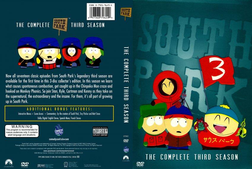South park 3 сезон