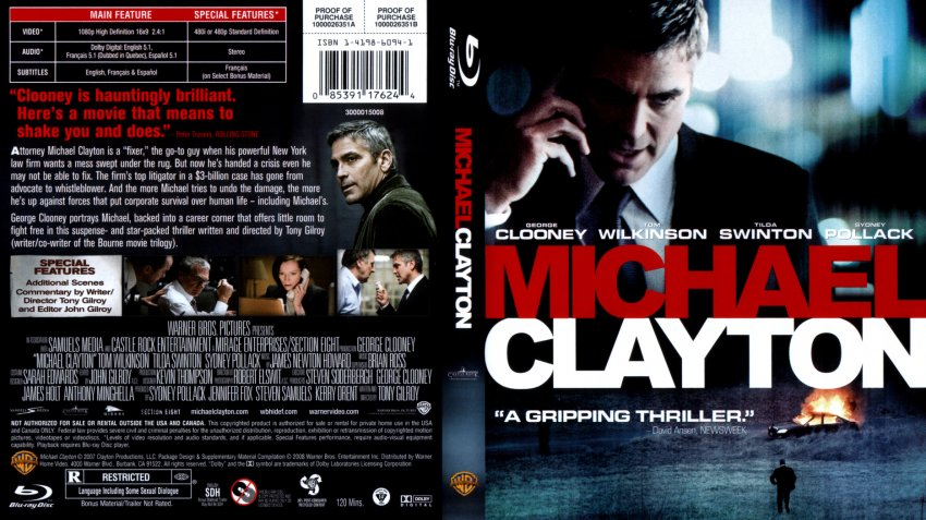 Michael Clayton - Movie Blu-Ray Scanned Covers - upload2 :: DVD Covers: www.dvd-covers.org/art/Blu_Ray_Covers/Movie_Blu-Ray_Scanned_Covers...