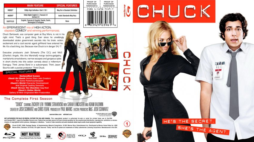 Chuck Season 1 Blu-ray Custom