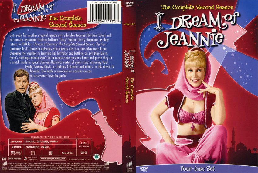 product dream jeannie complete seasons five