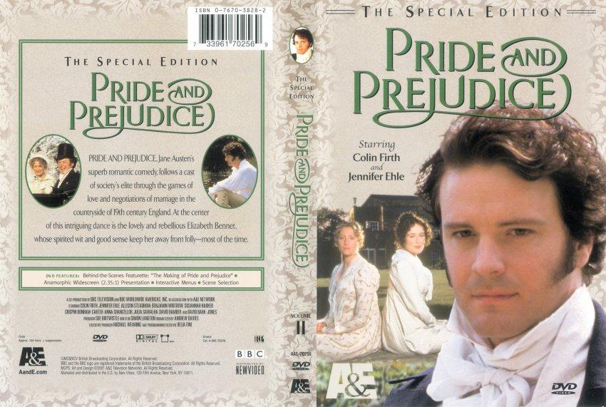 Pride and Prejudice Volume 2 - TV DVD Scanned Covers ...