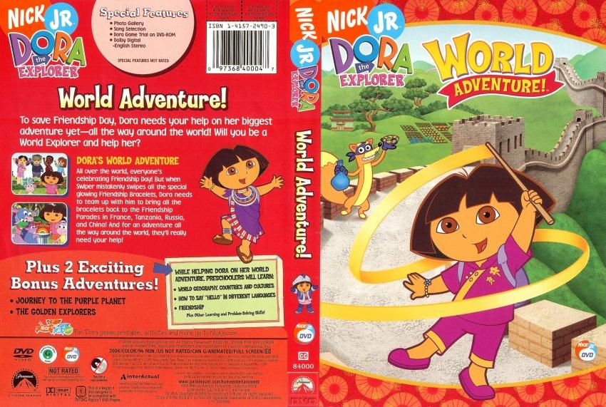Dora the explorer world adventure dvd : Tv series apples way