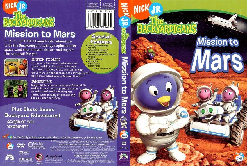 Bo Backyardigans Mission to Mars (page 3) - Pics about space