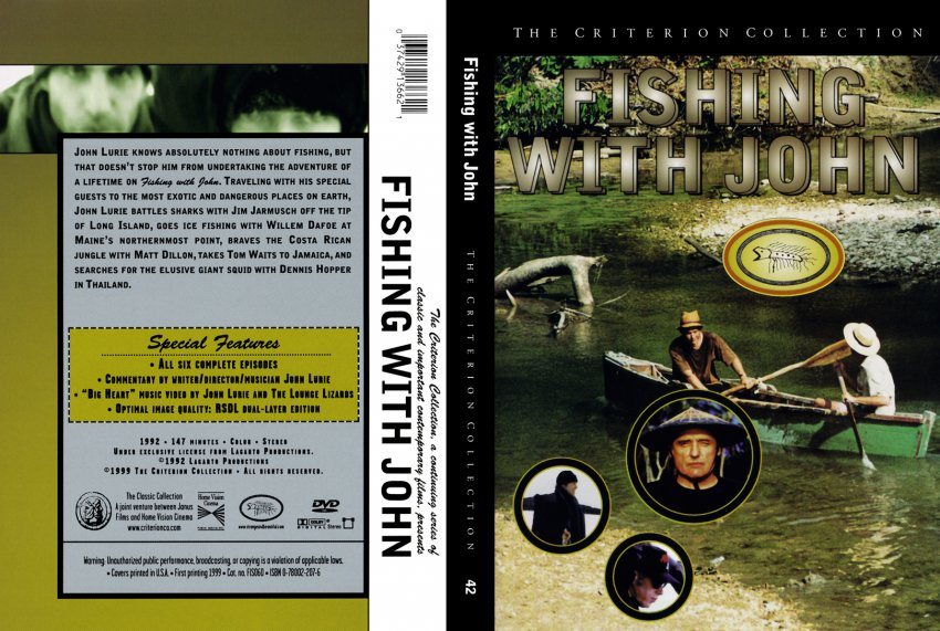 Fishing with john movie dvd custom covers 042 fishing for Fishing with john